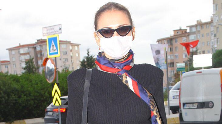 Emina Jahovic'in alışveriş şıklığı