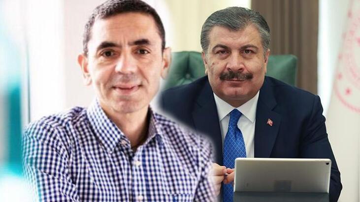 Son dakika... Sağlık Bakanı Fahrettin Koca, Prof. Dr. Uğur Şahin ile görüştü