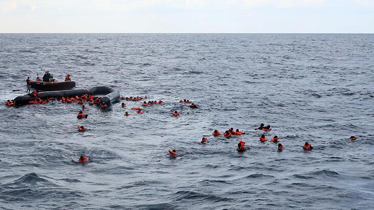 Son dakika... Libya açıklarında facia! En az 74 mülteci boğularak öldü