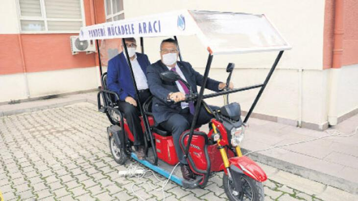 Kaymakamlığa iki elektrikli araç tahsisi