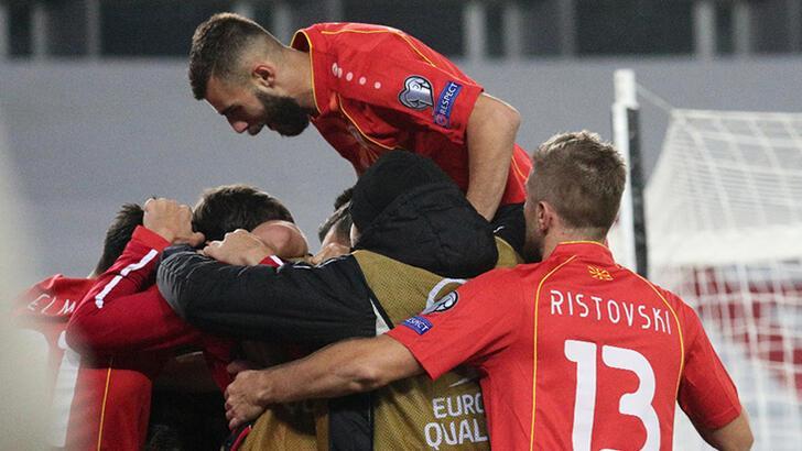 Son dakika - Kuzey Makedonya EURO 2020'ye katılma hakkını kazandı!
