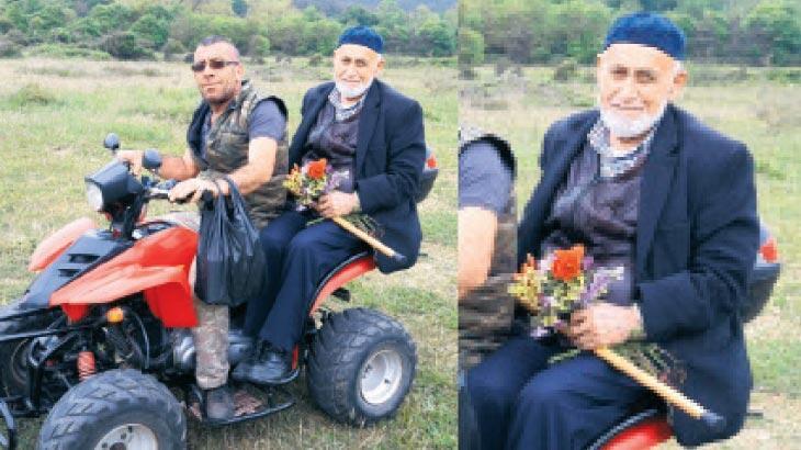 101 yaşındaki Ali dede koronavirüsü yendi