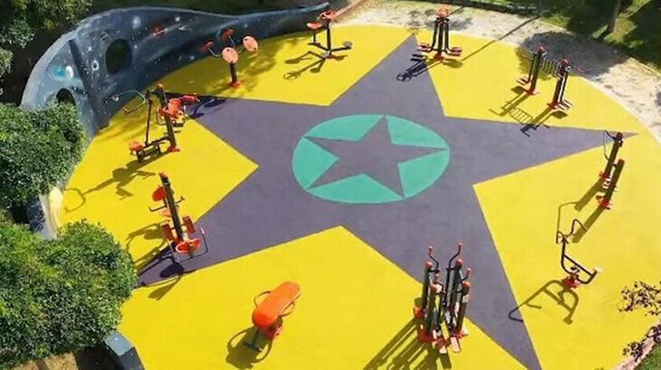 Küçükçekmece Belediyesi hangi parti, belediye başkanı kim? Küçükçekmece parkına yapılan görsellerin anlamı ne?