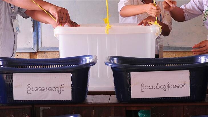 Myanmar'da parlamento seçimini iktidar partisi kazandı