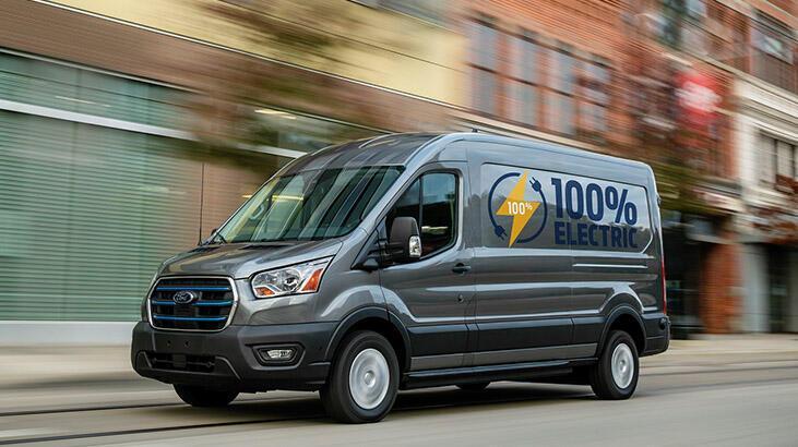 Ford'un tam elektrikli ilk ticari aracı E-Transit