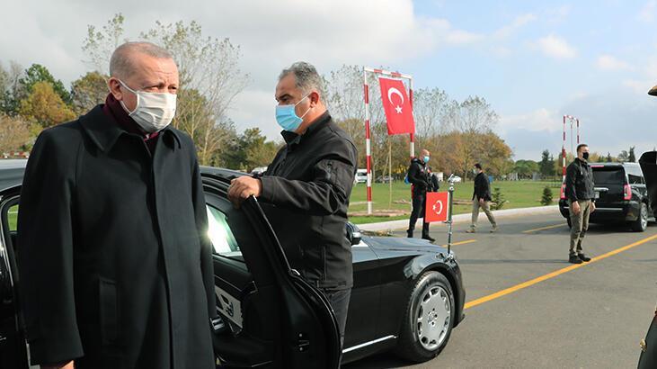 Cumhurbaşkanı Erdoğan, cuma namazını Tekirdağ'da kıldı