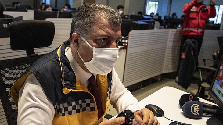 Bakan Koca'dan flaş maske açıklaması!