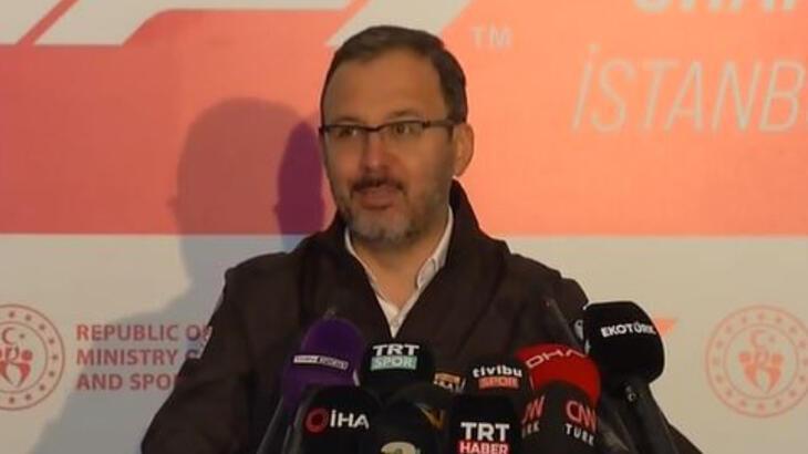 Son dakika - Gençlik ve Spor Bakanı Kasapoğlu: Yarım kalmış bir hikaye yeniden başlıyor