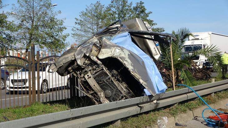 Trabzon'da feci kaza! Ölü ve yaralılar var...