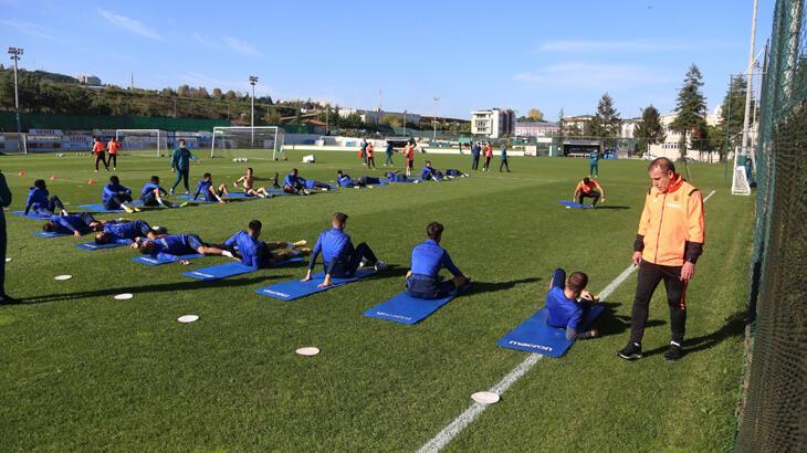 Trabzonspor'da Büyükşehir Belediye Erzurumspor hazırlıkları sürüyor