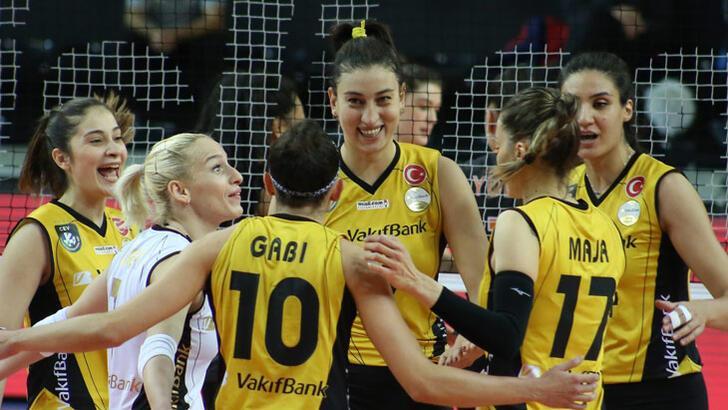 VakıfBank galibiyet serisini 31 maça çıkardı