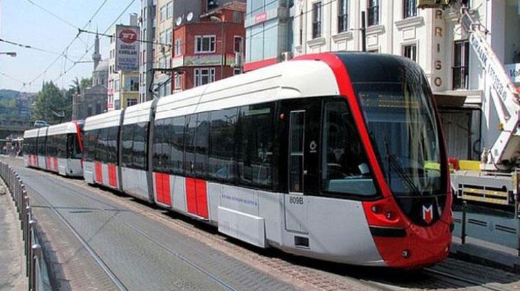 Kabataş-Bağcılar tramvay hattında kaza! Seferler aksadı