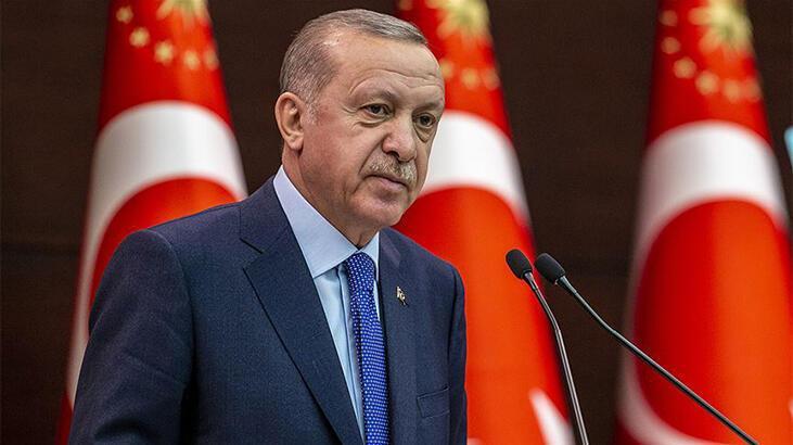Cumhurbaşkanı Erdoğan yarın Kuzey Kıbrıs Türk Cumhuriyeti'ne gidecek