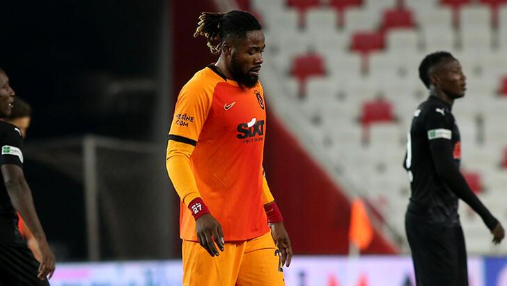 Son dakika - Galatasaray'da Luyindama sakatlandı