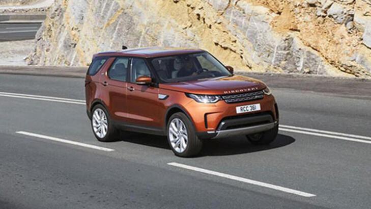 Land Rover 7 koltuklu Discovery modeline makyaj yaptı