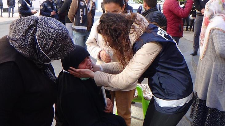 HDP'lilerle evlat nöbetindeki aileler arasında gerginlik!