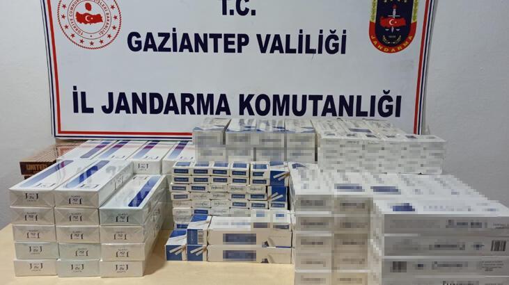 Gaziantep'te kaçak sigara operasyonu