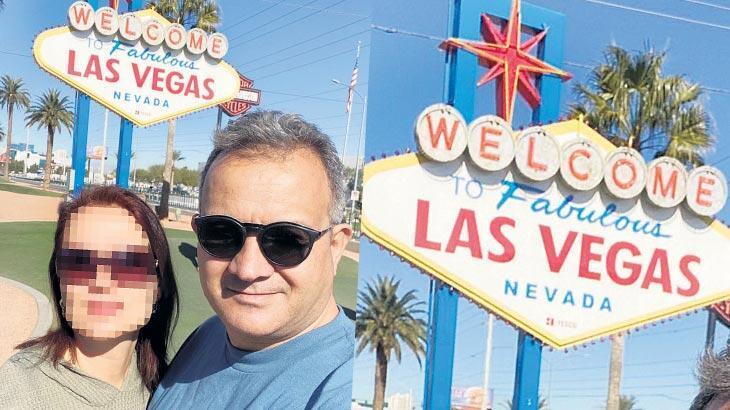 Kızı Instagram'da görünce... Las Vegas'a takıldı!