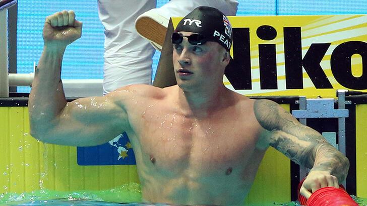 Büyük Britanyalı yüzücü Peaty'den rekor geldi!