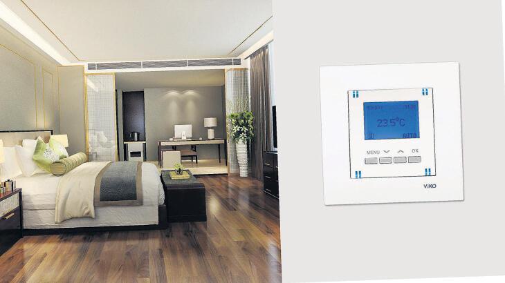Verimli enerji için dijital termostat