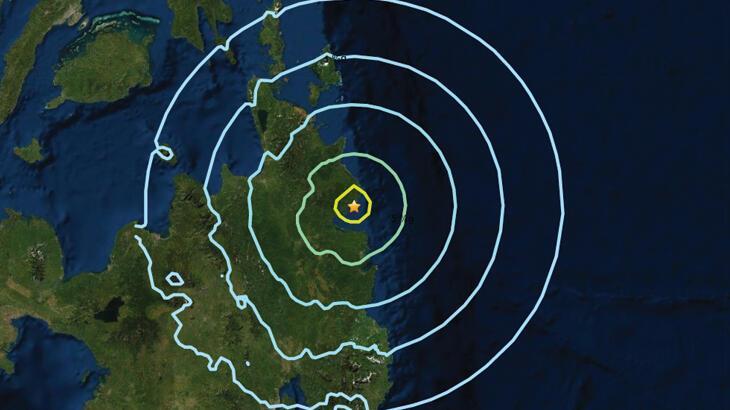 Son dakika: Filipinler'de 6.1 büyüklüğünde deprem