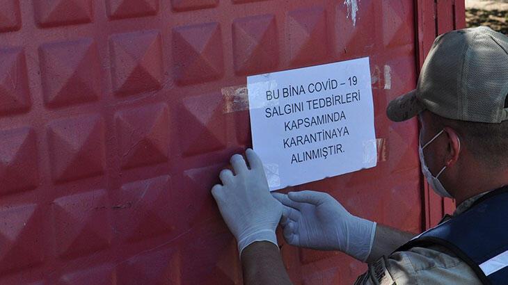 Kırklareli'de 1 köy ve 2 apartman karantinaya alındı