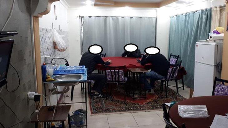 Denizli'de iş yerinde kumar oynayanlara 44 bin 550 lira ceza  kesildi