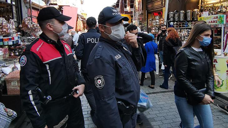 Denizli'de maske takmayan 158 kişiye ceza yağdı!