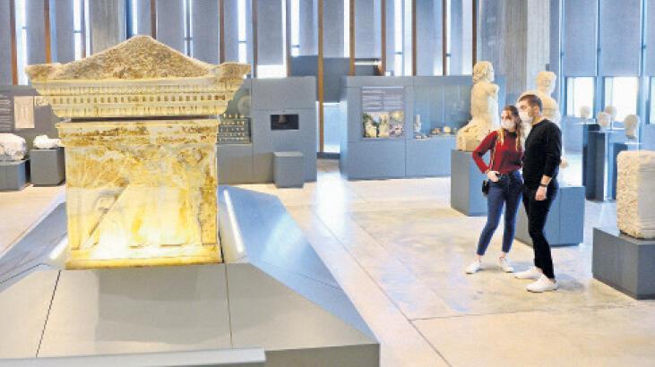 Troya Müzesi'ne 1 milyon ziyaretçi