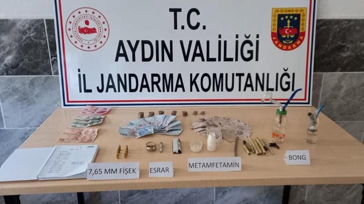 Aydın'daki uyuşturucu operasyonunda 1 kişi gözaltına alındı