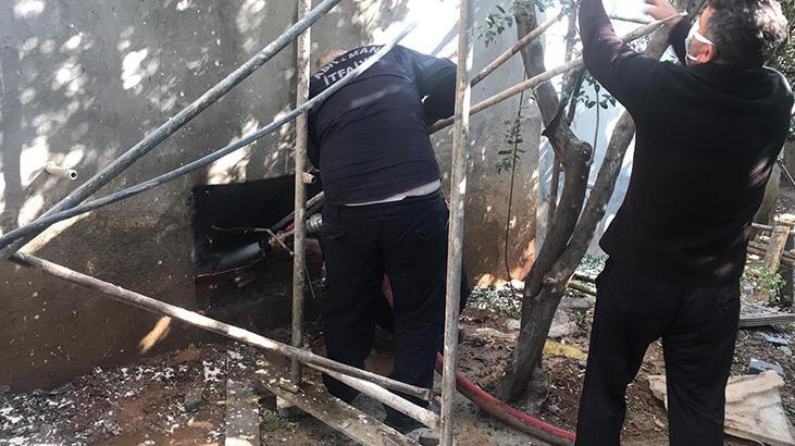 Bodrum katta yangın çıktı! 2 kişi etkilendi