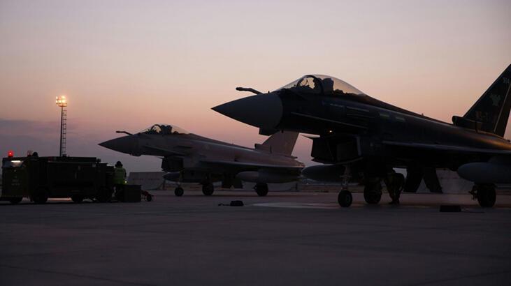 Son dakika... İngiltere Kraliyeti'ne ait iki uçak Konya'da