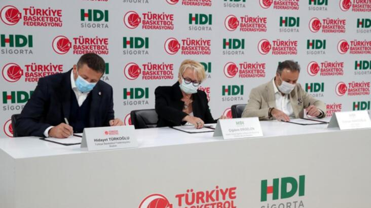 Türk basketbolu HDI Sigorta'ya emanet