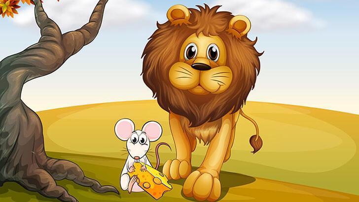 Aslan ile Fare Masalı Oku: Fare ile Aslan'ın heyecanlandıran hikayesi