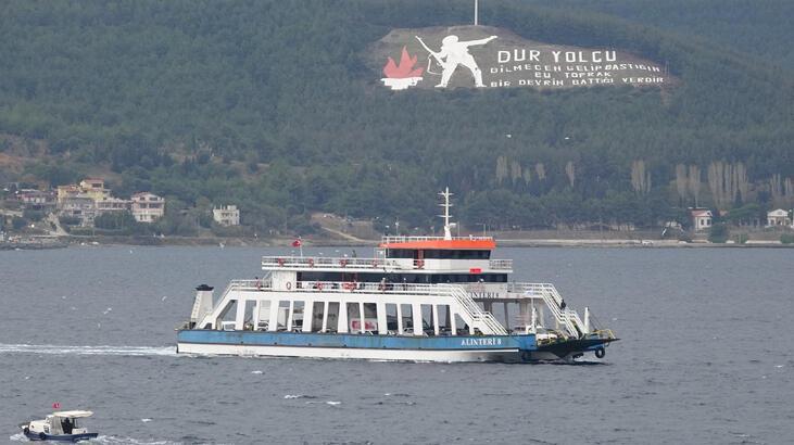 Çanakkale'de feribot seferleri 'HES' kodu ile yapılacak