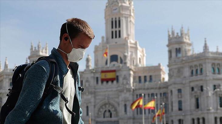 Son dakika... İspanya'da son 24 saatte Kovid-19'dan 435 kişi öldü