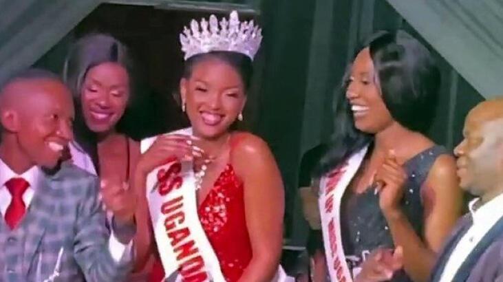 Son dakika... Esenyurt'taki Miss Uganda yarışması güzeli konuştu: 'Bizim için önemli'