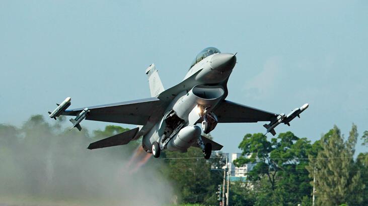 F-16 savaş uçağı kayboldu