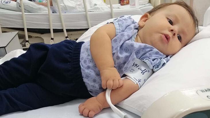Ailesi, SMA hastası 7 aylık Amine destek bekliyor!