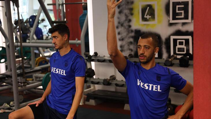 Trabzonspor'da Büyükşehir Belediye Erzurumspor maçı hazırlıkları devam ediyor