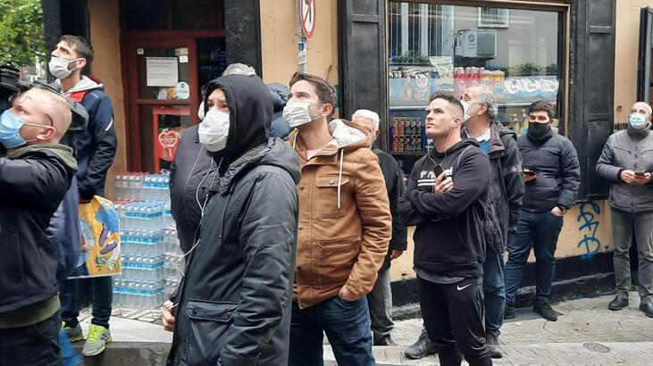 Beyoğlu'nda panik anları! Vatandaşlar sokağa döküldü