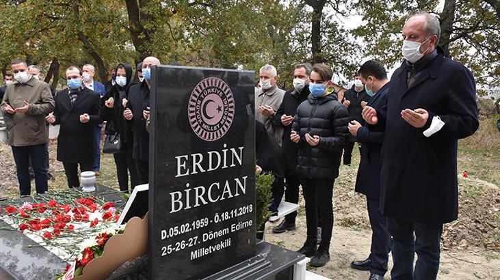 Muharrem İnce, CHP'li Bircan'ın anmasına katıldı