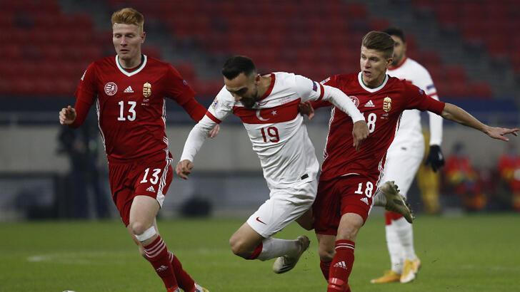Son Dakika   A Milli Takım, Macaristan'a 1-0 mağlup oldu
