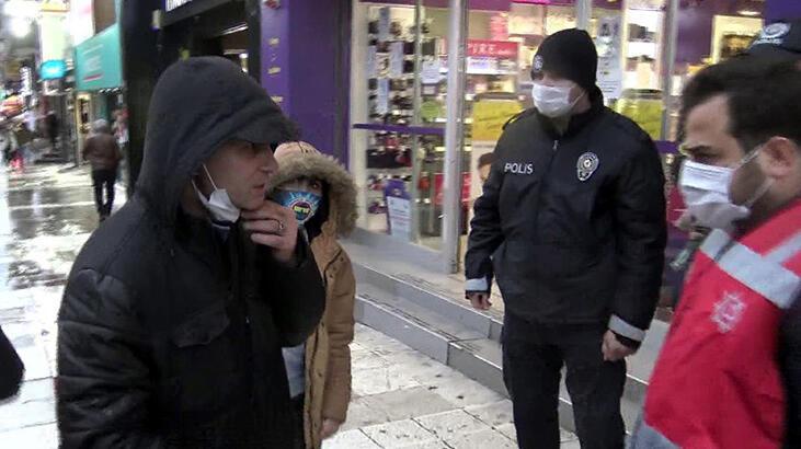 İstanbul'da maske ve sigara denetimi!