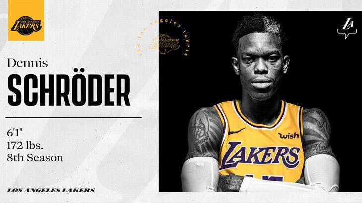 Los Angeles Lakers, Dennis Schröder'i transfer etti