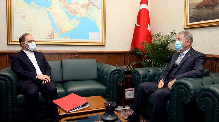 Milli Savunma Bakanı Akar, Diyanet İşleri Başkanı Erbaş ile görüştü