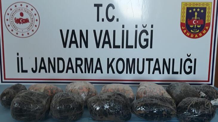 Van'da, 10 kilo sentetik uyuşturucu hap ele geçirildi