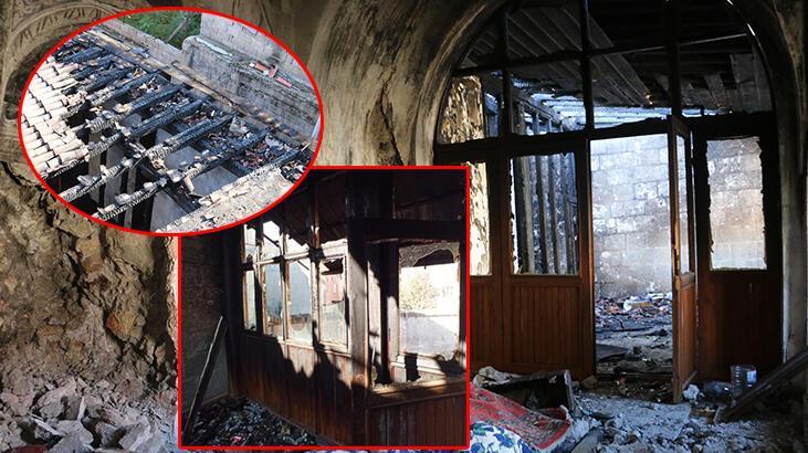 Siirt'te çirkin saldırı! 130 yıllık camiyi savaş alanına çevirdiler