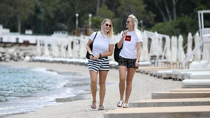 Ukraynalı turistler en çok Antalya ve Muğla'yı tercih ediyor