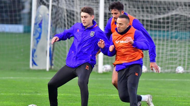 Medipol Başakşehir'de Beşiktaş maçı hazırlıkları devam ediyor